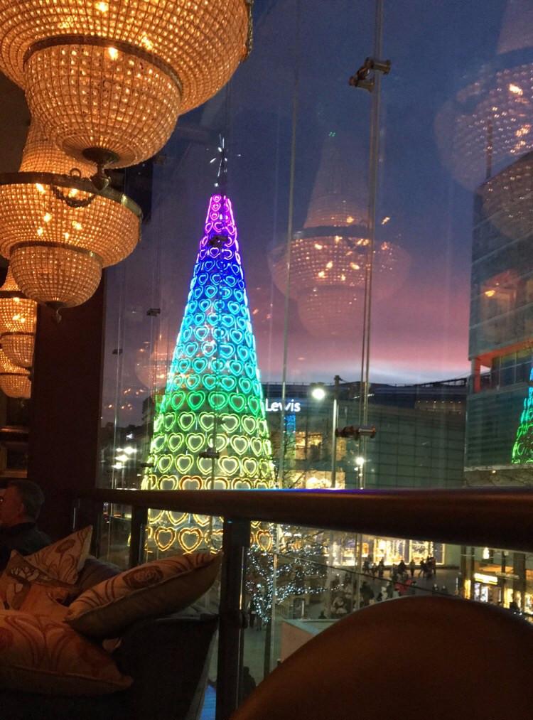 Liverpool Christmas tree