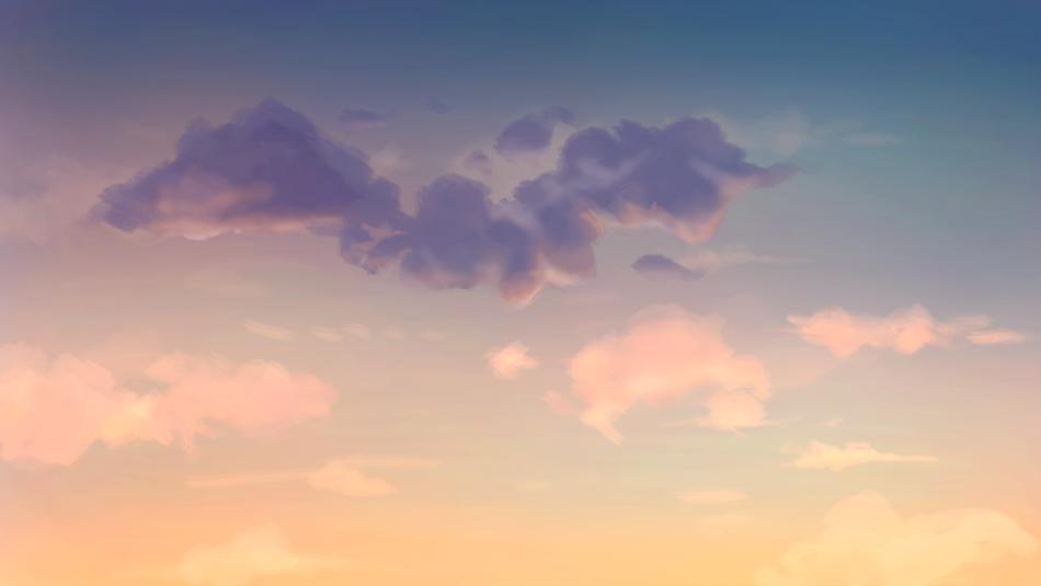 Desert Sunset Study