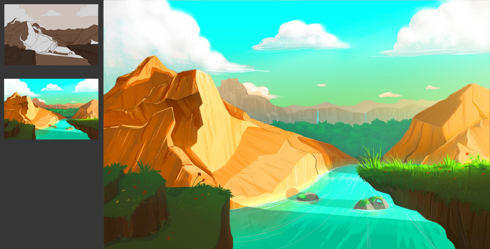 The Crey Mountains