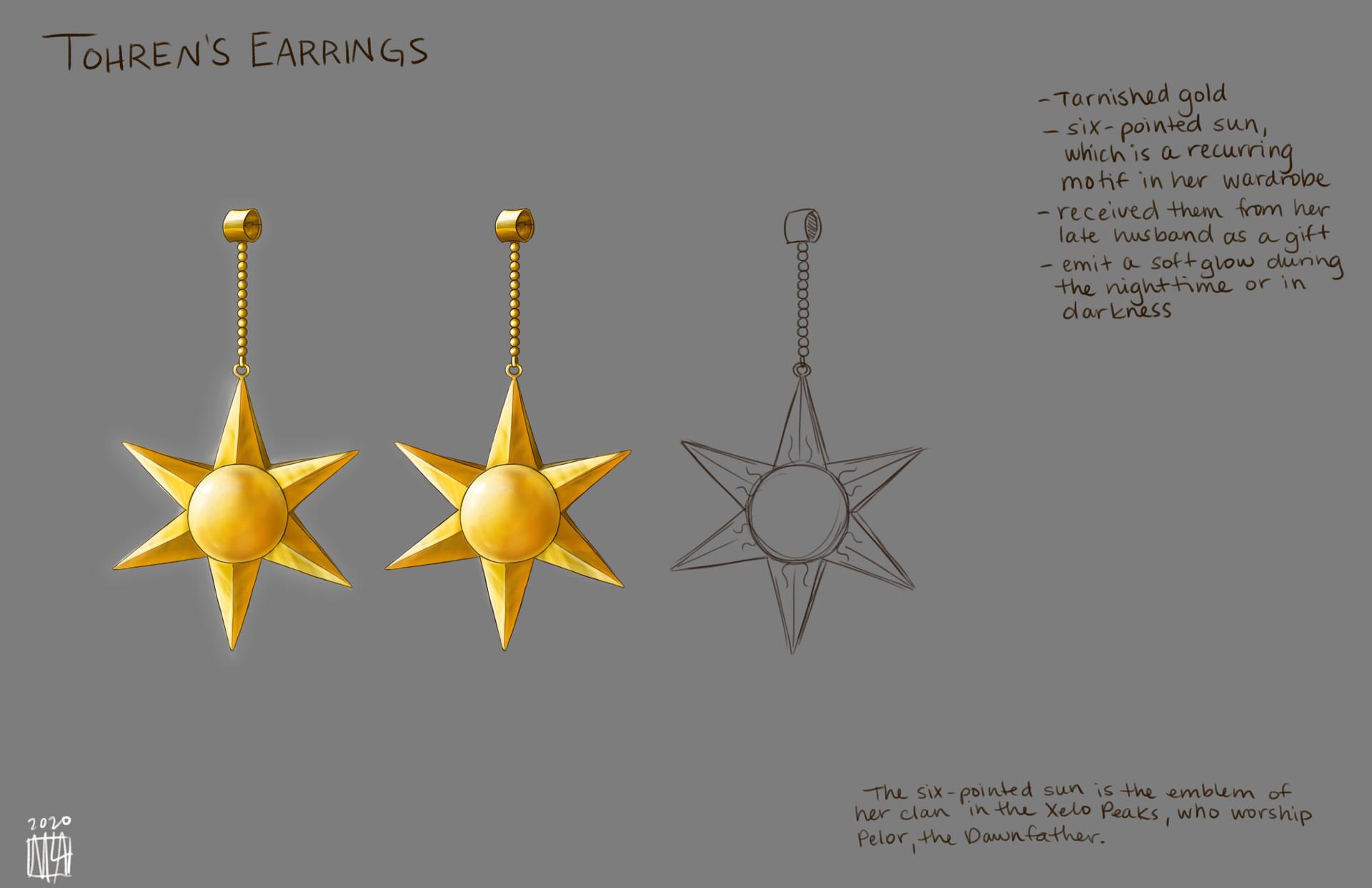 Tohren's Earrings