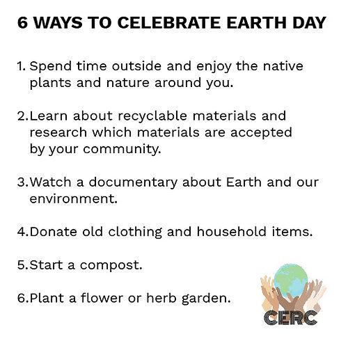 CERC Earth Day_Six Celebration Ideas (00