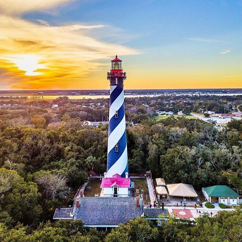 IMPORTANT UPDATE: St Augustine Lighthouse  & Maritime Museum Tour /Lunch