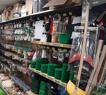 Grand choix de matériel de pêche