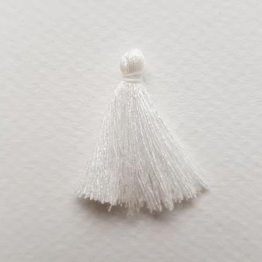 Pompon blanc