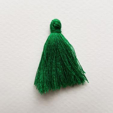Pompon vert impérial