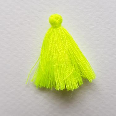 Pompon jaune fluo