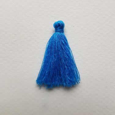 Pompon bleu de France