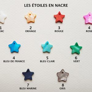 Les étoiles
