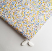 Liberty ® Phoebe Chebika jaune et bleu