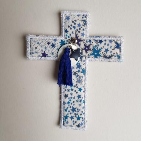 Croix Liberty Adelajda bleu marine