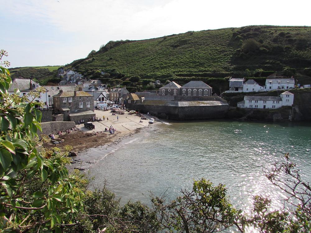 Port Isaac in Cornwall