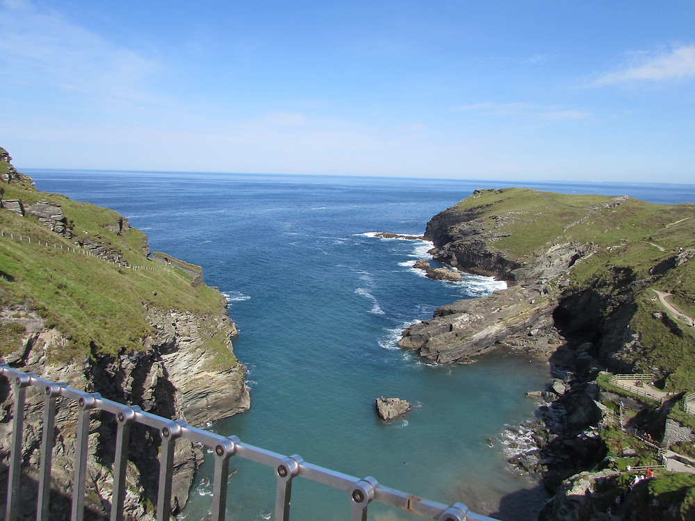Coastal view in Cornwall