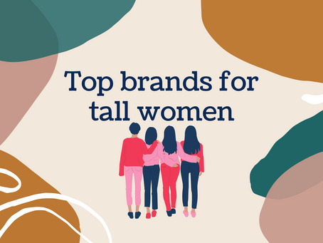 Top brands/retailers for tall women's clothes