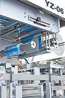 cream cheese chiplets packaging machine.