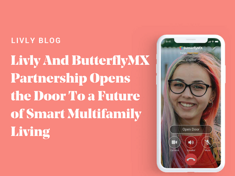 ButterflyMX Partnership Opens the Door To Smart Multifamily Living