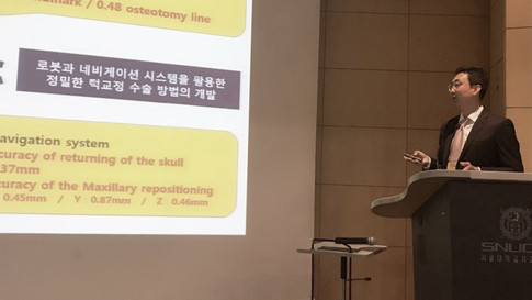 [Seoul National Univ. Dental Hospital] 3D Jaw Surgery Lecture during the Lecture Academic Seminar