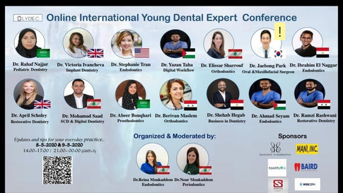 [International] Conference invitation presentation - Webinar - orthognathic surgery