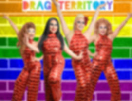 Drag T red jumpsuit rainbow wall 5000px.