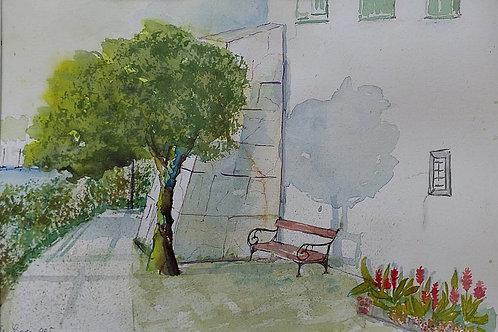 Ruheplatz am Traunsee