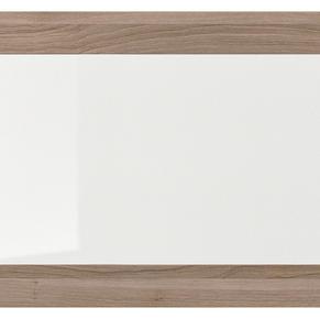 Light wood frame clear glass doors