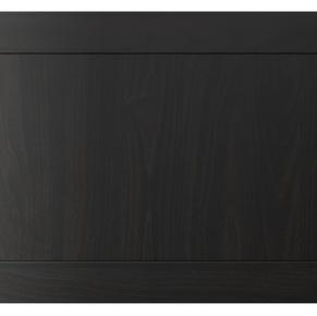 Ebony wood stain shaker style doors