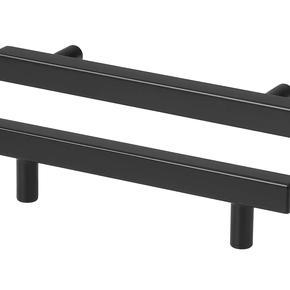 Black bar handles