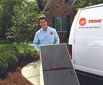 HVAC install technician