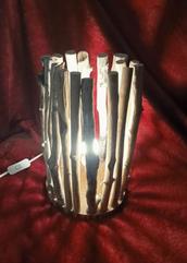 Lampe avec Bois Flotté (Ref AG9) ; Boutique Déco