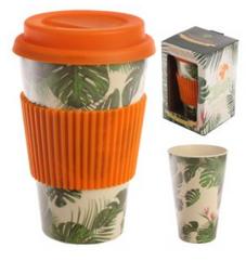 Mug à Emporter Réutilisable Composite de Bambou ; Boutique Zéro-Déchets