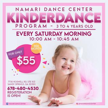 Kinderdance Program   Registration is Open!
