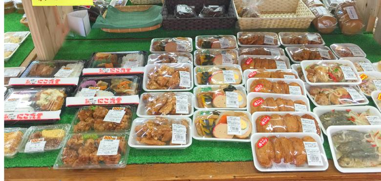 惣菜・お弁当コーナー