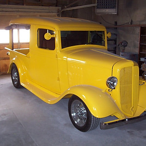 1934 Chevy Canopy