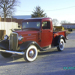 1936 Ford High Cab