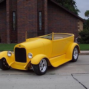 1929 Model A Phaeton