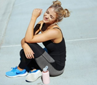 Do you look after your hair when exercising?