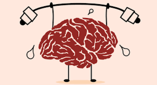 brain doing weights image