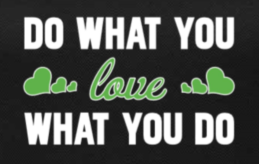 enerG+ slogan - do what you love what you do