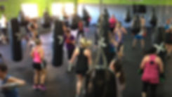 enerG+ punch+ a group fitness boxing class at enerG+ studio O'Halloran Hill