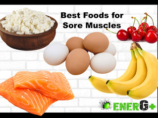 The Best Foods for Sore Muscles