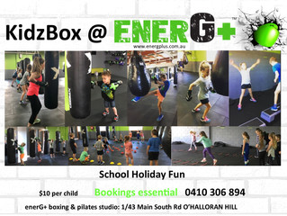School Holidays and Healthy Kids