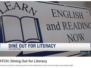 Dine out for Literacy in the News!