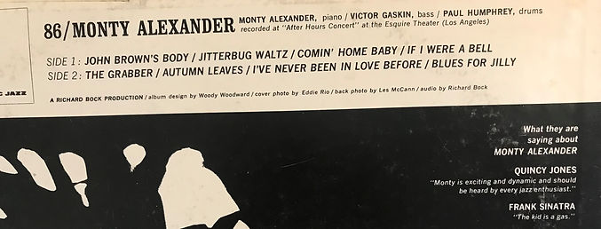 The kid is a gas (quote on LP record).jp