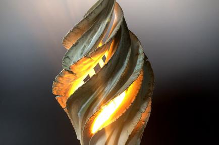Rising Water Lamp