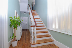 Reception stairs