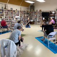 Campground Senior Yoga Class