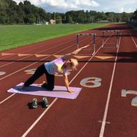 Outdoor Yoga: Running Track