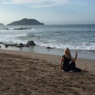 Outdoor Yoga: Beach