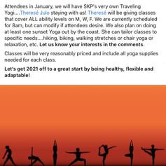 Traveling Yoga Teacher: Escapees Hangout Event