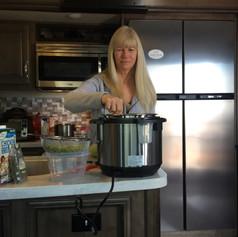 Rv Yoga:  Cooking