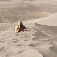Outdoor Yoga: Sand